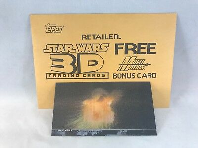 STAR WARS 3Di WIDEVISION CARDS MULTI-MOTION CARD #M1 in ENVELOPE Topps 1996
