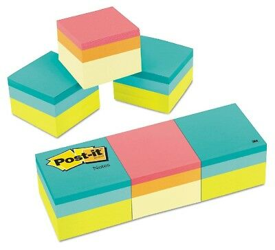 Post-it Notes Mini Cubes 2 x 2 Assorted Ultra Colors 3, 400 Sheet Pads and Pack