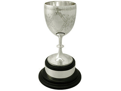 Antique Victorian Sterling Silver Presentation Cup by Charles Stuart Harris 1875