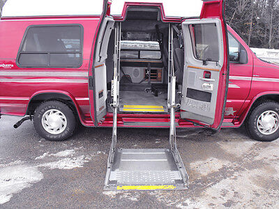 Ford : E-Series Van Driving Aids and Accessories 1994 ford e 250 starcraft conversion handicap wheelchair van 65 000 mi