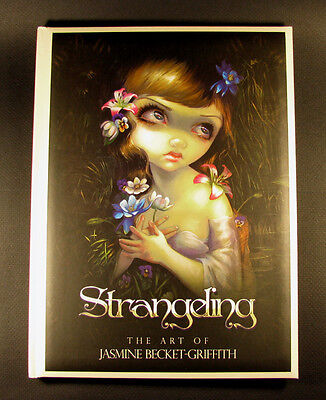 Strangeling the Art of Jasmine Becket-Griffith fantasy book SIGNED AUTOGRAPHED