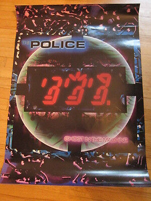 POLICE Ghost in the Machine Promo Poster 24x34