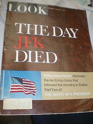 Look Magazine The Day JFK Died Part Two: The Death of a President