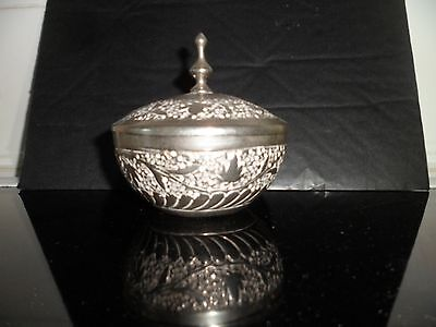 German silver container/ bowl