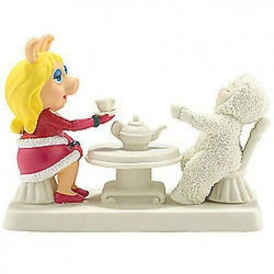 Snowbabies - Miss Piggy Comes to Tea Figurine - The Muppets