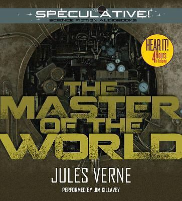 The Master of the World by Jules Verne (2014, MP3 CD, Unabridged)