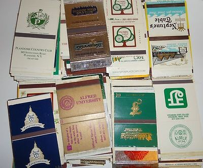 Vintage Matchbox Lot - Mostly Country Clubs Approx 600 Boxes