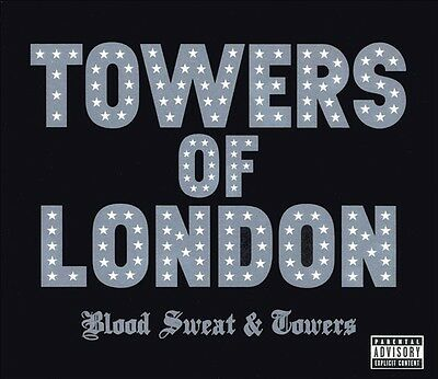 TOWERS OF LONDON BLOOD SWEAT & TOWERS NEW, SEALED CD - NO PROMO - HARD ROCK