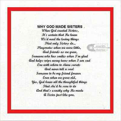"""Why God Made Fabric Squares 100% cotton 8"""" x 8"""" w/ border US ship free Int'l low"""