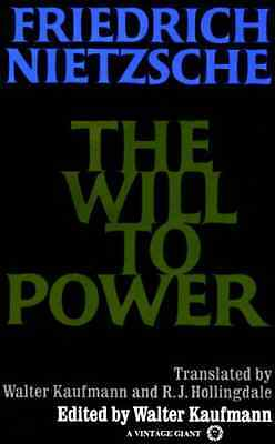 The Will to Power: In Science, Nature, Society and Art - Paperback NEW Nietzsche