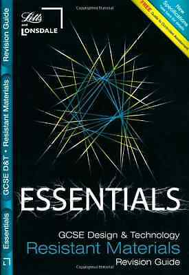 GCSE Essentials Resistant Materials Revision Guide - JP Oversized NEW - 2009-03-