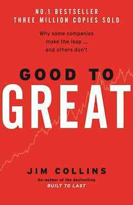 Good to Great - Hardcover NEW Collins, Jim 2001-10-04