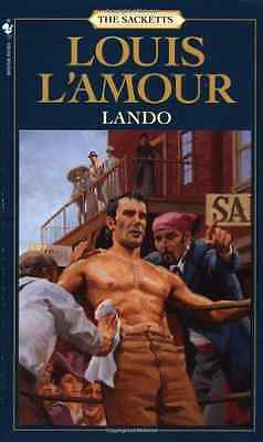 Lando (Sacketts) (Sacketts) - Mass Market Paperback NEW L'Amour, Louis 1999-05-3