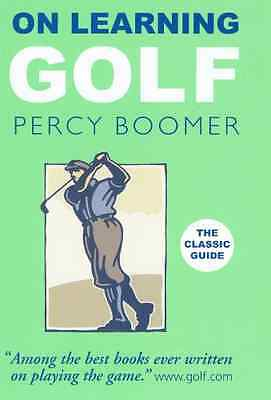 On Learning Golf - Hardcover NEW Boomer, Percy 2009-04-07