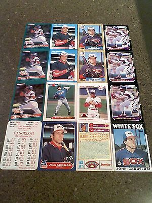 *****John Cangelosi*****  Lot of 50 cards  28 DIFFERENT