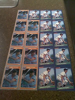 *****Chris Pittaro*****  Lot of 54 cards  5 DIFFERENT