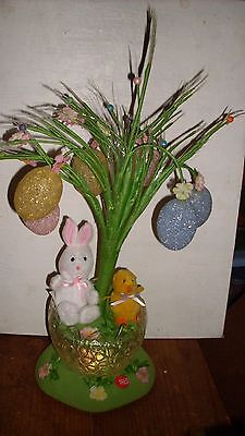 "Avon ""BLOSSOMING FIBER OPTIC EASTER TREE"" w/ Music and Lights - 2008 IOB"