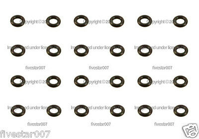 Fuel Injector Nozzle 24 O-Ring Rubber Seal Gasket Set kit for BMW  3 5 6 7 8  z3
