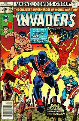Invaders (2nd Series) #20 FN save on shipping - details inside
