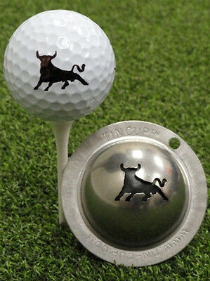 Tin Cup Golf Ball Marking System Bull Market