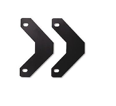 Avery Triangle Shaped Sheet Lifters for 3 Ring Binder 2 Pack Black AVE75225
