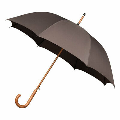 Falcone Men's Automatic Windproof Walking Umbrella - Grey