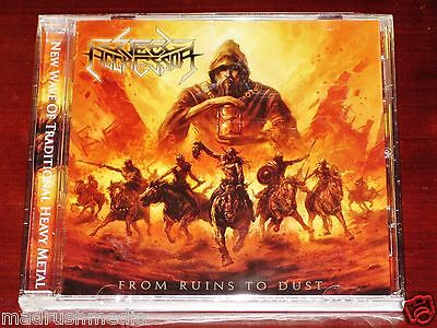 Steel Aggressor: From Ruins To Dust - Limited Edition CD 2011 Stormspell USA NEW