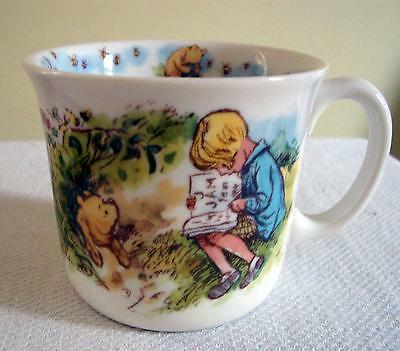 CLASSIC POOH MUG - ONE HANDLE ROYAL DOULTON Porcelain Disney Christopher Robin