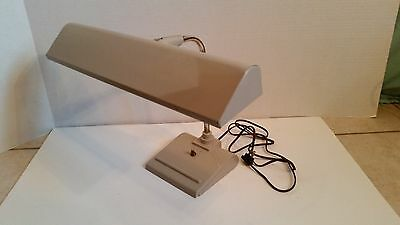 Vintage Industrial Art Special C.O. Fluorescent Desk Table Drafting Lamp Tan