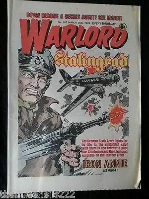 Warlord #183 - March 25 1978