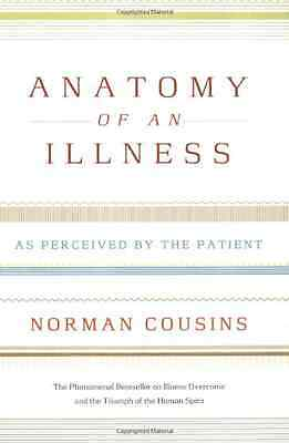 Anatomy of an Illness as Perceived by the Patient - Paperback NEW Cousins, Norma