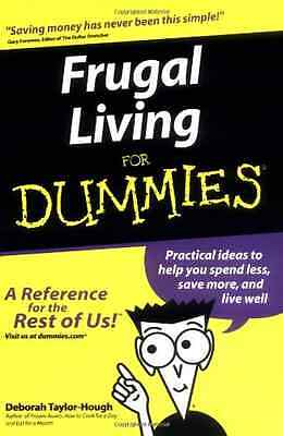 Frugal Living For Dummies - Paperback NEW TaylorHough, De 2003-02-07