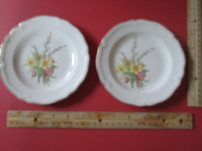 Semi Vitreous Edwin M. Knowles China Co Made in USA set of Plates 486