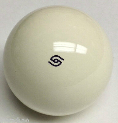"Aramith ""PERFECT ROLL"" PURPLE LOGO Coin Op Cue Ball - Duramith Magnetic Cue Ball"