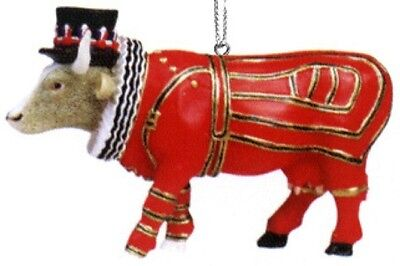 Cow Parade 2002 London BEEFEATER ORNAMENT #7576 New in Box & Hard to Find!
