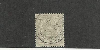 Luxembourg,  Postage Stamp, #33 Used, 1875