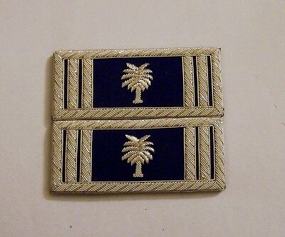 Civil War CSA Army State Carolina Straps Boards Palm Uniform Officer Captain SC