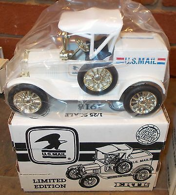 US Mail 1918 Ford Runabout Ertl Truck Bank