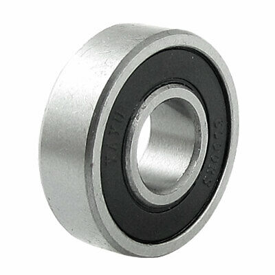 6000RS 10 x 26 x 8mm Rubber Sealed Deep Groove Ball Bearing