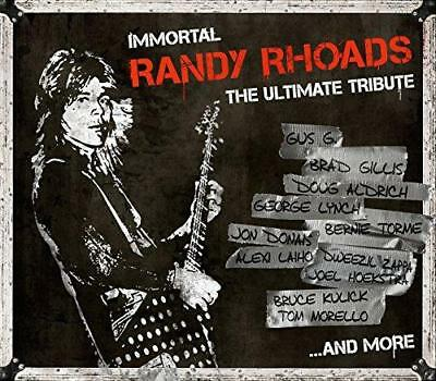 Immortal Randy Rhoads - The Ultimate Tribute - Various (NEW 2 VINYL LP)