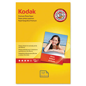 Kodak Premium Photo Paper - KOD8154106_2 - 2 Item Bundle