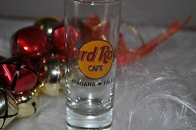 Hard Rock Cafe Shot SHOOTER  Glass -NIAGARA FALLS