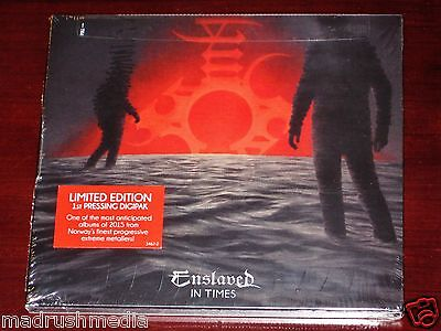 Enslaved: In Times - Limited Edition CD 2015 Nuclear Blast 1st Press Digipak NEW