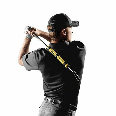 SKLZ Power Sleeve Golf Strength Flexibility Swing Path Training Aid
