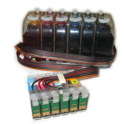 CISS Bulk BEST CIS Ink System for Epson Stylus Photo 1400 Artisan 1430 T0791