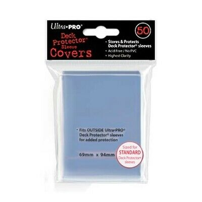 Ultra Pro 50 Clear Cover Standard Deck Protector Sleeves 84080