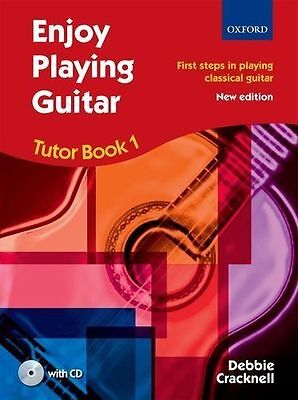 Enjoy Playing Guitar Tutor Book 1/CD by Debbie Cracknell -Same Day P+P