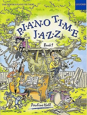 Piano Time Jazz Book 1 by Pauline Hall  - Same Day P+P