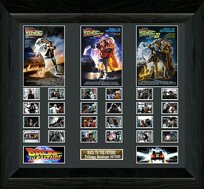 Back to the Future Large Trilogy film cell (1985,1989,1990) (b)
