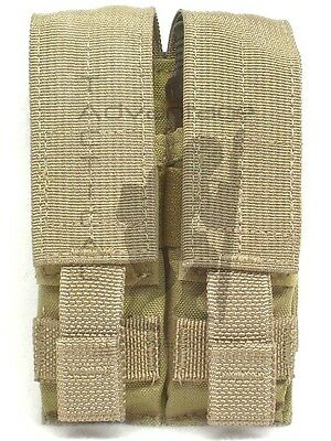 BAE Systems ECLiPSE Double Stack 9mm Double Magazine MOLLE Pouch - MJK khaki